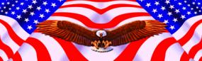 American Spirit Rear Window Graphic