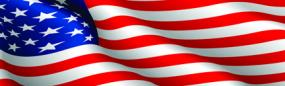 American Flag Rear Window Graphic