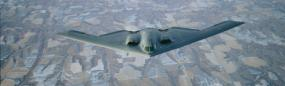 B-2 Stealth Bomber Rear Window Graphic