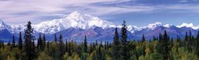 Alaska Range Denali Rear Window Graphic