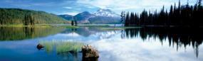 Cascade Mountains Rear Window Graphic