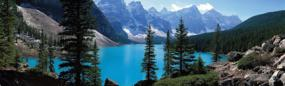 Moraine Lake Banff National Park Rear Window Graphic