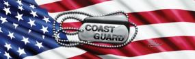 Coast Guard Tags Rear Window Graphic