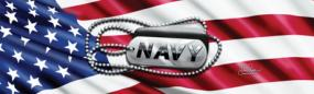 Navy Tags Rear Window Graphic